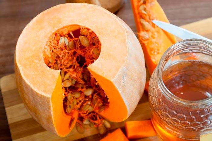 мед и тыква