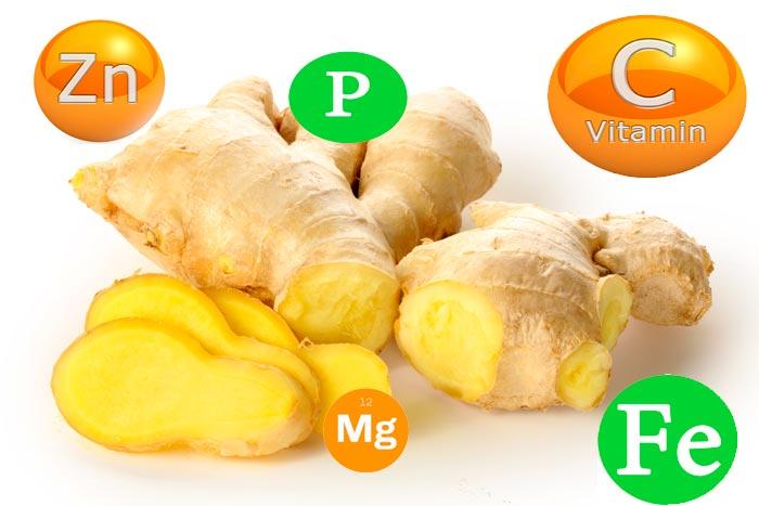 витамины в имбире