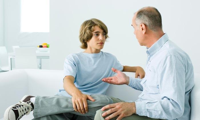 беседа с отцом